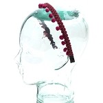 Maroon Page Headband - for all ages